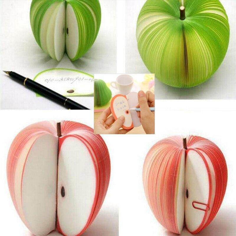 Corea papelería Kawaii lanzamiento planificación Sticky Fruit Memo niño regalo para estudiantes papelería escuela Oficina suministros
