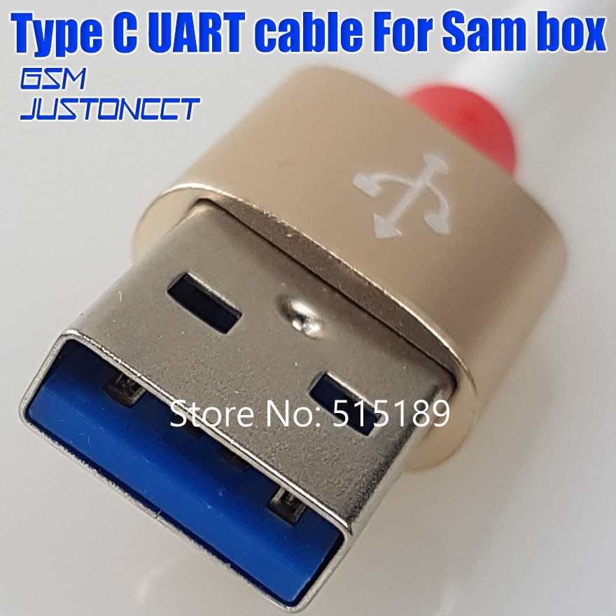 2019 Newest 100% Original Type-c cable UART cable for and SAM PRO Box and SAM box for samsung S8, Free Shipping enlarge