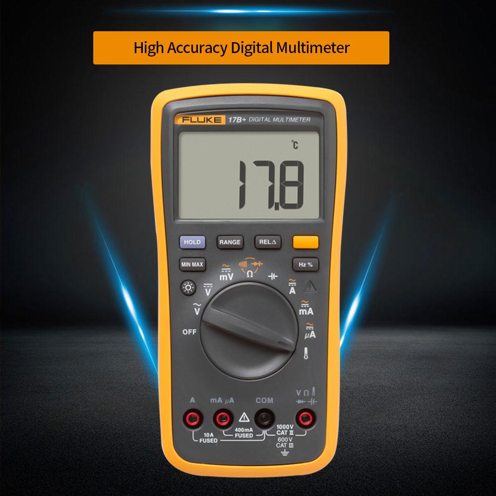 Multímetro Digital multímetro de rango automático rango Manual Mini multímetro de corriente profesional prueba de continuidad