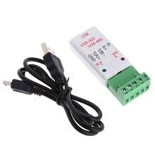 Adaptateur convertisseur 2 en 1 USB vers RS422 et RS485 avec Support CH340T 64b Win7 Linux LSD Tool