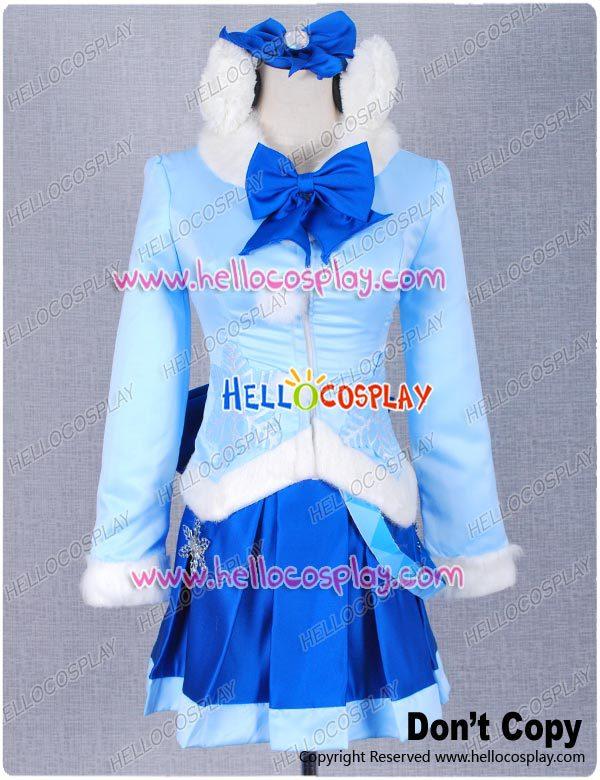 Vocaloid Nendoroid Снежная Мику пушистое пальто версия костюма H008