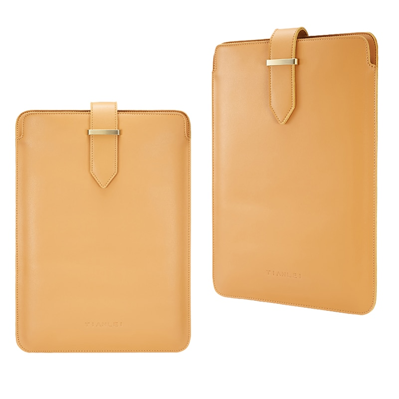 Funda de cuero genuino para portátil para Macbook Pro Air Retina 13,3 15,4, funda de mensajero para Notebook PC para superficie de portátil 13,3 15 Hp X360