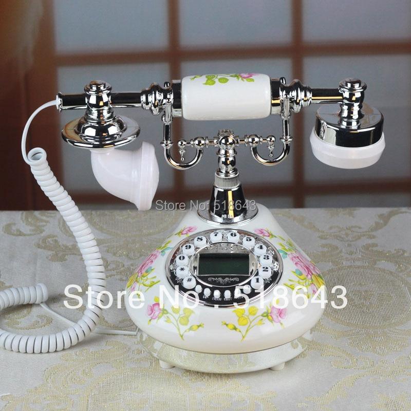 Free shipping telephone rural antique telephone European phone restoring ancient ways  Vintage telephone