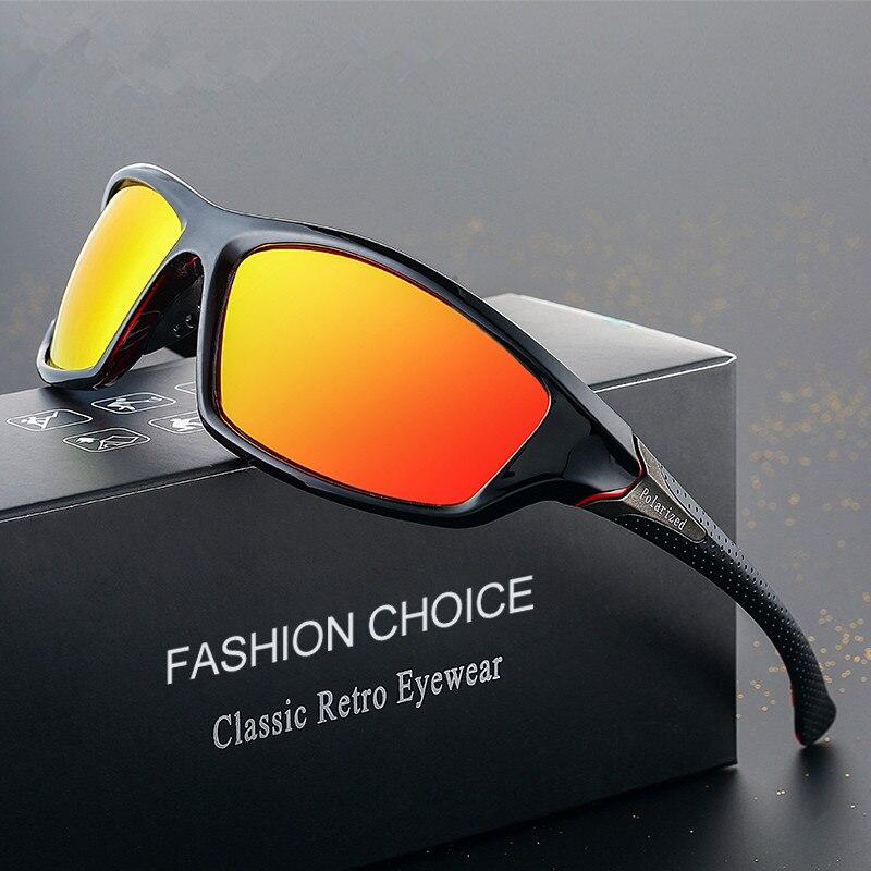 LATASHA Polarized Sunglasses Men's Driving Shades Male Sun Glasses For Men Retro Cheap 2018 Luxury B