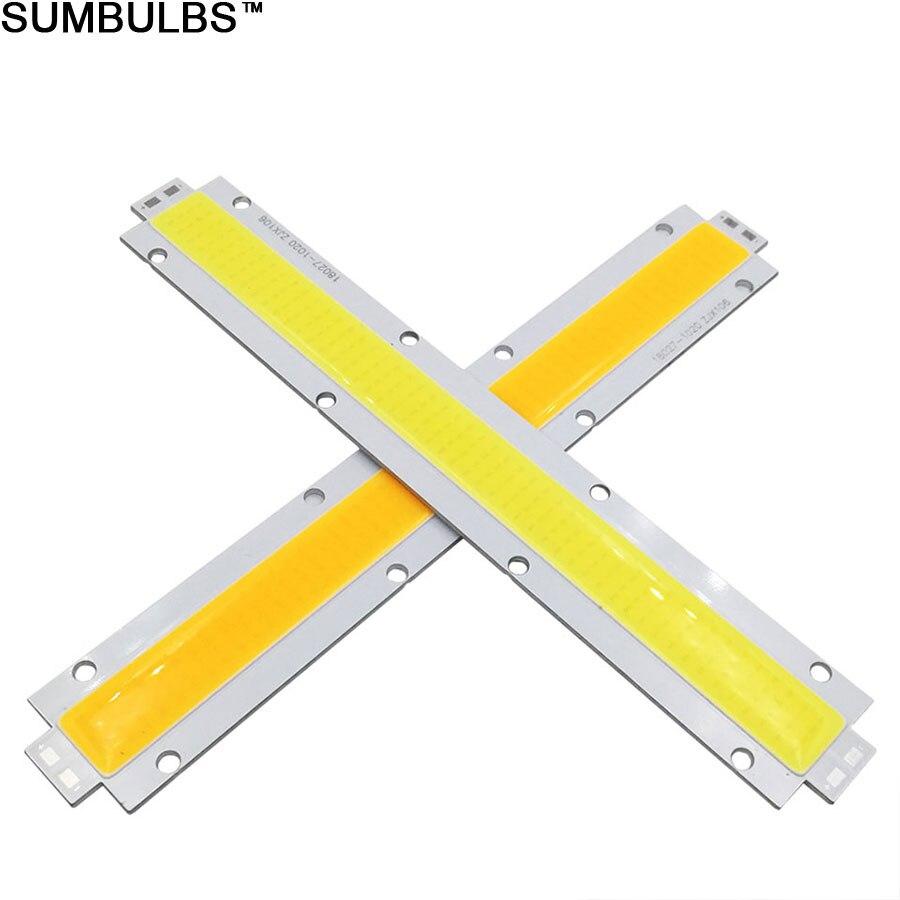 Sumbulbs большая мощность 100 Вт 150 Вт COB Светодиодный модуль DC 30 в водонепроницаемый светильник источник для DIY прожектор ультра яркий светильник...