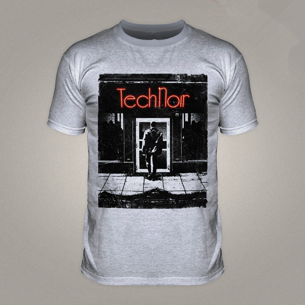 TECH NOIR TERMINATOR SKYNET club nocturno, disco T 800 DISKO película Sci Fi camiseta T800 llegada T camisas de EE. UU. Tamaños-XXXL