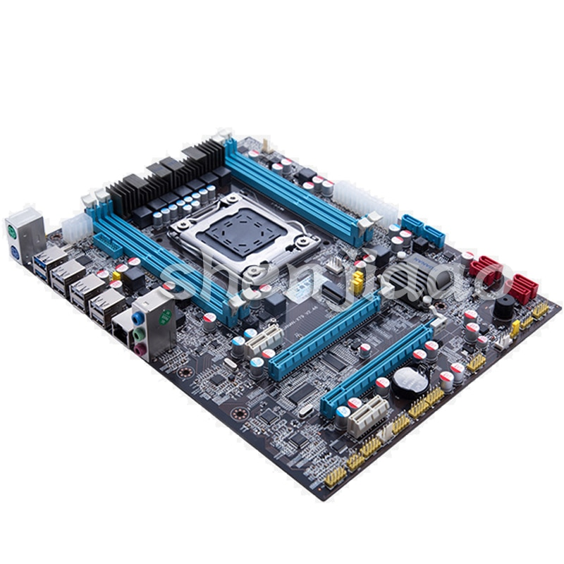Versión compatible con placa base X79 compatible con Servidor de memoria RECC E5 2670 y otros CPU USB3.0 SATA3Interface Tipo 1pc