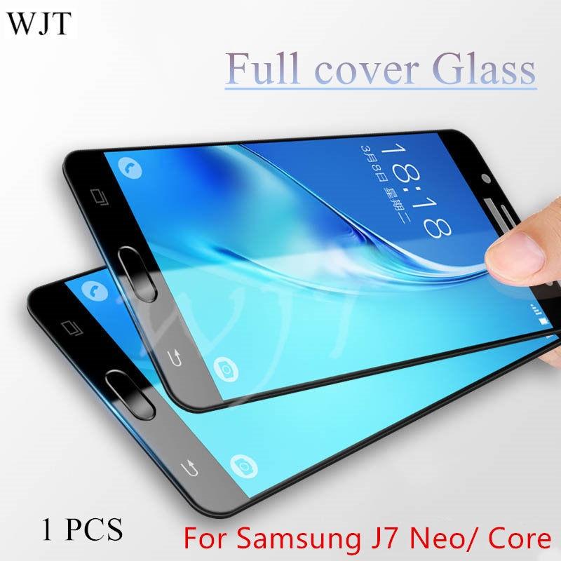 J7 9H полное покрытие закаленное стекло для Samsung Galaxy J7 Neo J701 J701M стекло J7 CORE J701F/DS J700 J701FZ Защитная пленка для экрана