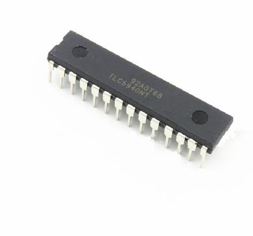 2 шт. IC LED pwm драйвер управления 28-dip TLC5940NT TLC5940 Новый