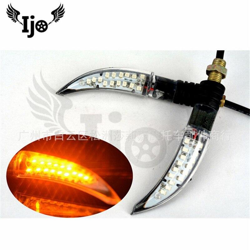 Accesorios de repuesto de motocicleta luces de modificación de motocicleta luces de dirección LED vehículos fuera de carretera coches de playa reacondicionado ste