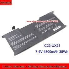 100% Test Haute Qualité 7.4V 4800mAh 35Wh C23UX21 C23-UX21 Batterie pour Asus UX21E UX21 C23-UX21 UX21A Série Ultrabook