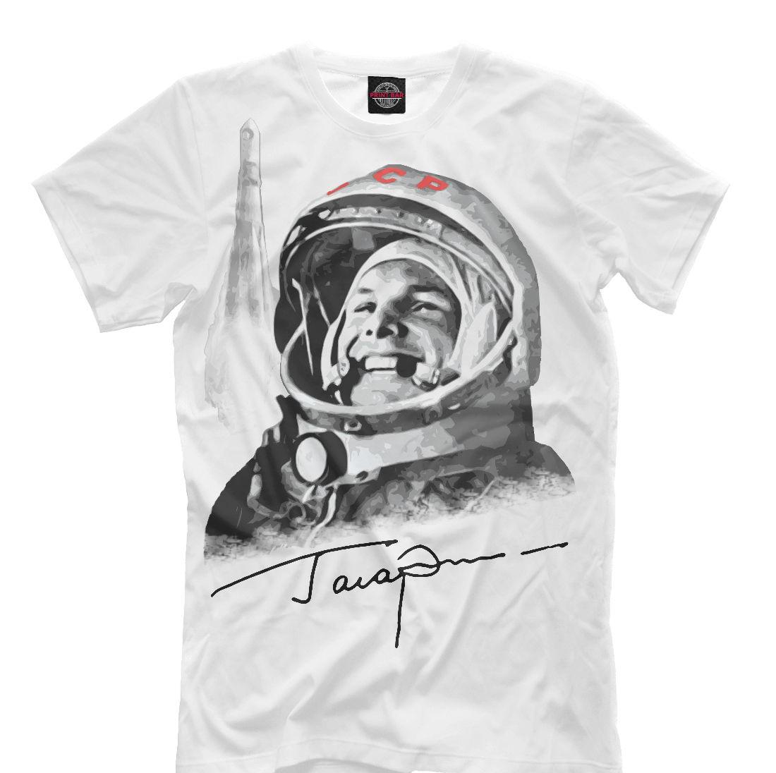 Nueva camiseta Rusia Ussr Primer Mundo Cosmonaut soviético Gagarin Cool Designe Hq hombres adultos Slim Fit camiseta S Xxl