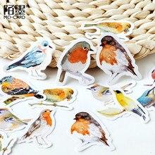 45 adet/paket Kawaii dizüstü sevimli kuş desen planlayıcısı günlüğü okul ofis malzemeleri günlüğü gündem gezginler dizüstü