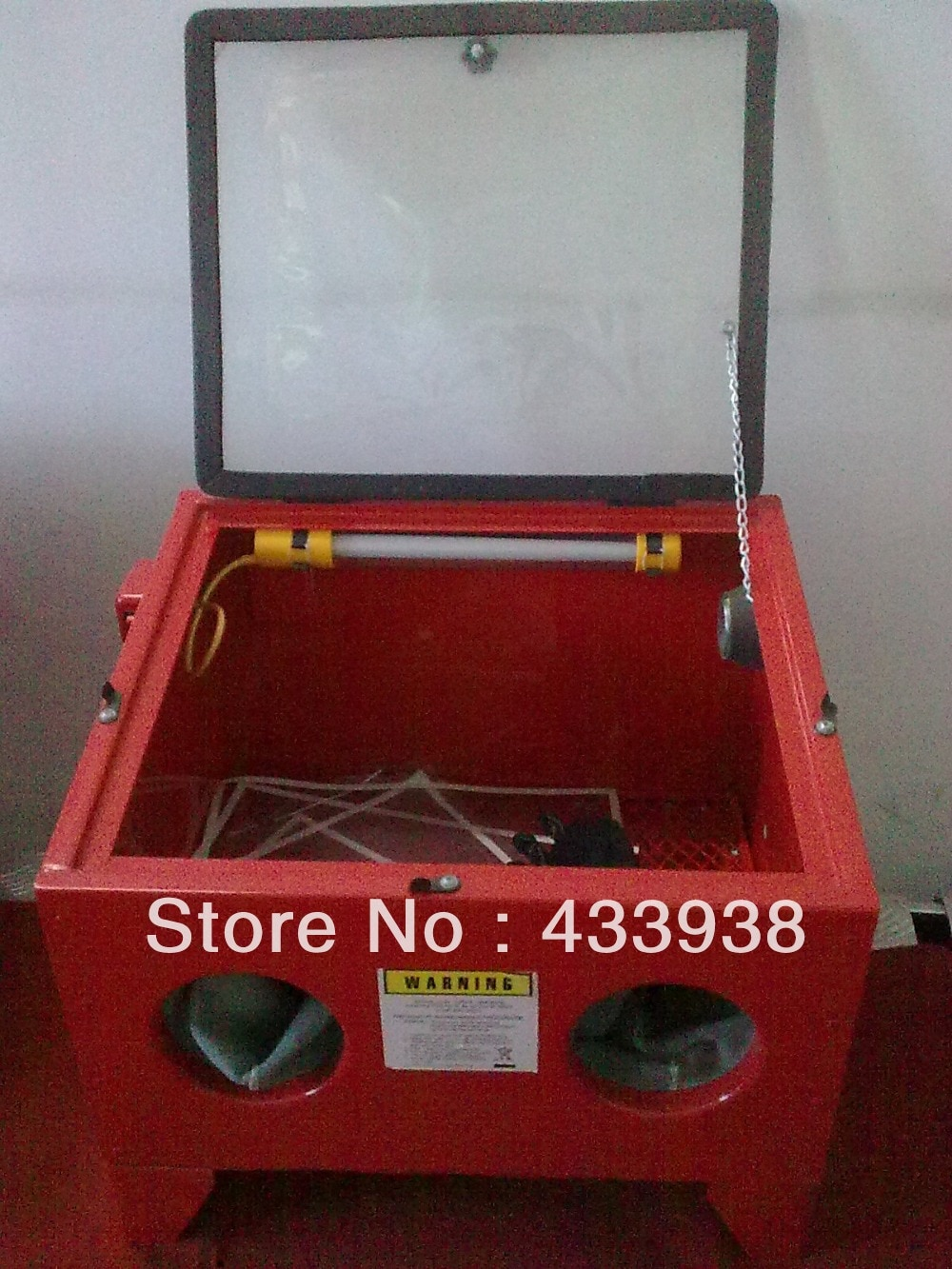 Bencho top sandblaster 90L SBC90 enlarge