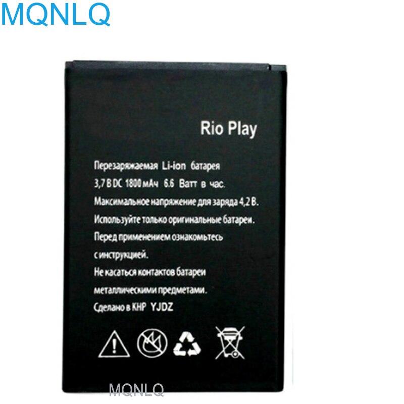 Аккумулятор для Explay RIO PLAY 1800 мАч Высококачественная сменная батарея