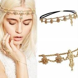 Cabeça de pérola para casamento, corrente de cabeça de casamento, flor, cristal, borla, faixa de cabeça para noiva, strass, vintage, peça de cabeça para mulheres, joias