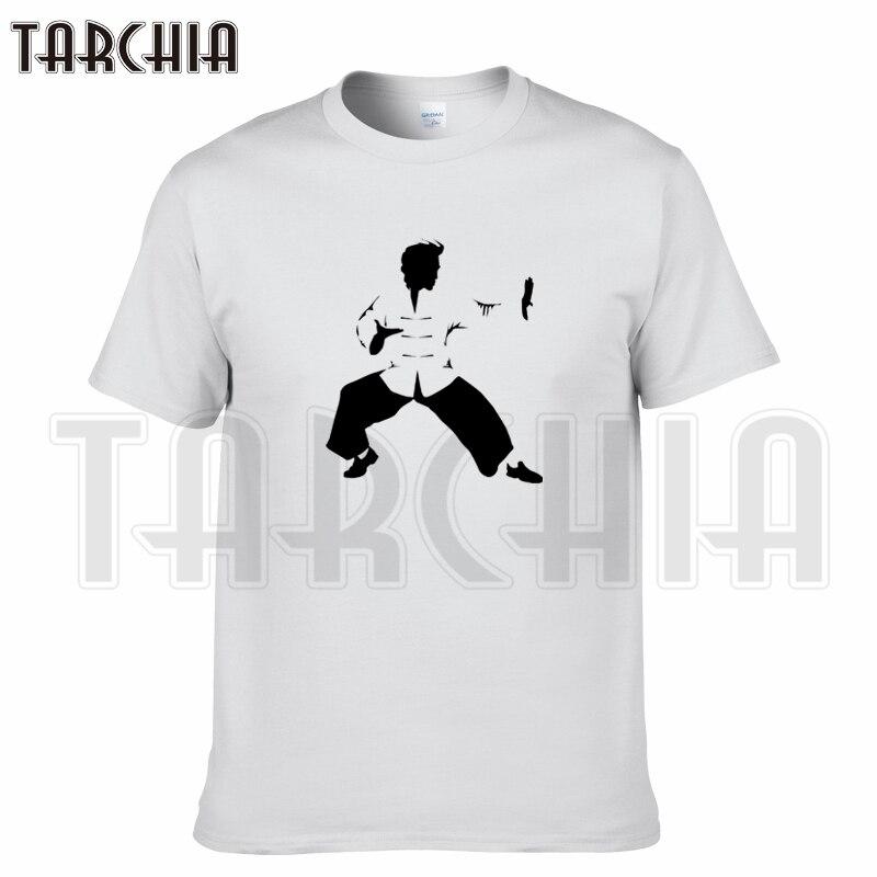 Футболка TARCHIA мужская с коротким рукавом, брендовая тенниска из хлопка, повседневная майка для мальчиков в стиле кунг фу и тайчи, лето 2021|brand tshirt|fashion tshirttshirt brand | АлиЭкспресс
