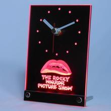 tnc0220 The Rocky Horror Picture Show Table Desk 3D LED Clock