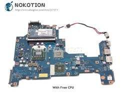 NOKOTION K000103980 PLACA PRINCIPAL Motherboard Para Toshiba Satellite L670D L675D NALAE U01 LA-6053P Tomada S1 DDR3 CPU Livre