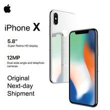 "Marke Neue Apple iPhone X 5,8 ""OLED Super Retina Display 4G LTE FaceID 12MP Kamera Bluetooth IOS 11 IP67 wasserdicht"