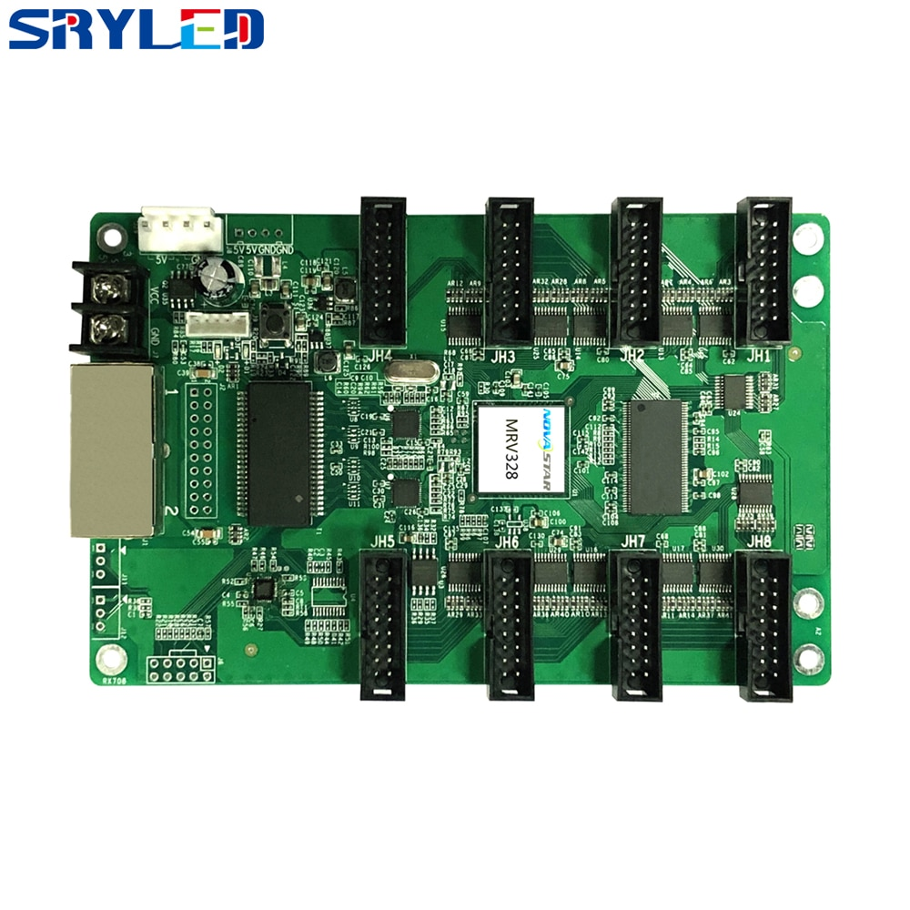 Novastar Receiving Card LED Matrix Controller MRV328 Hub75 Full Color Receiver