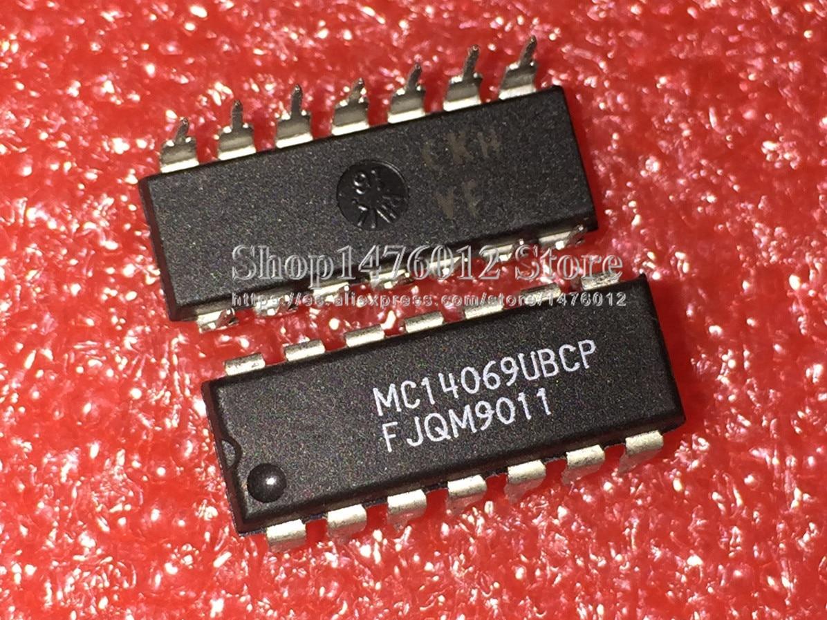 MC14069UBCP MC14069 DIP CD4069 DIP14 10 unids/lote