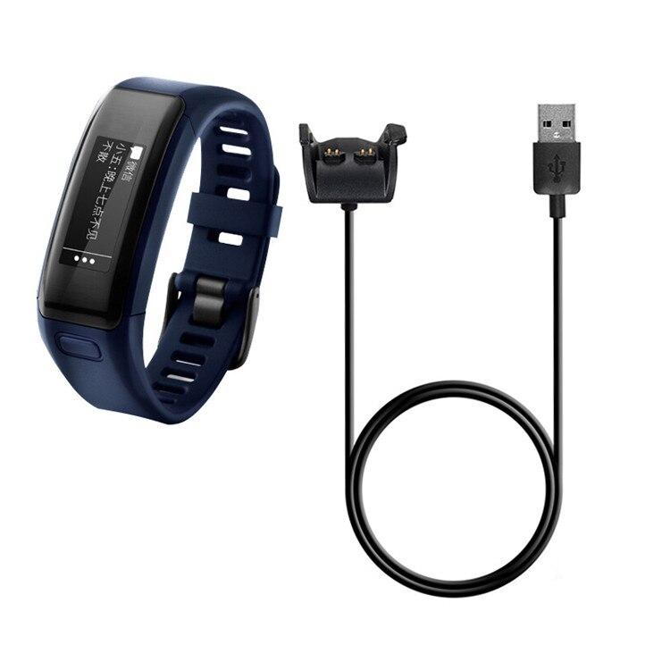 Cable cargador de alimentación USB para Garmin vivosmart HR, base de carga rápida de 1m, Cable de datos para Garmin VIVOSMART HR + enfoque X40 Watch