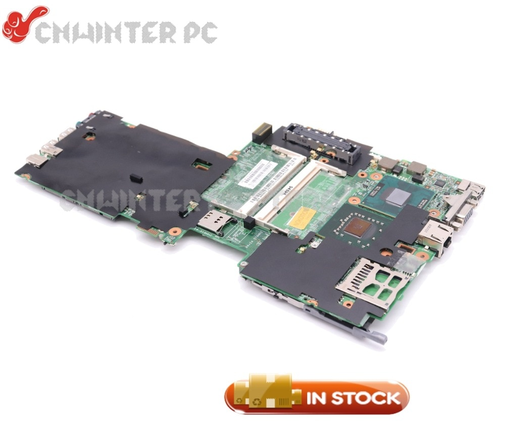 NOKOTION FRU 42W7770 płyta główna dla Lenovo Thinkpad X61 laptopa płyty głównej płyta główna w 48.4B401.011 T7300 2.0 Ghz CPU DDR2