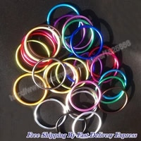 100pcs50pairs 3 colorful baby sling rings with good reputation