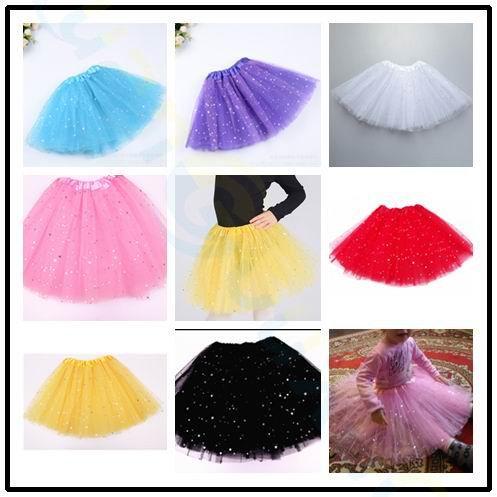 Children Day baby clothes shiny pink tutu skirt kids princess girls ball gown pettiskirts birthday party kawaii skirts
