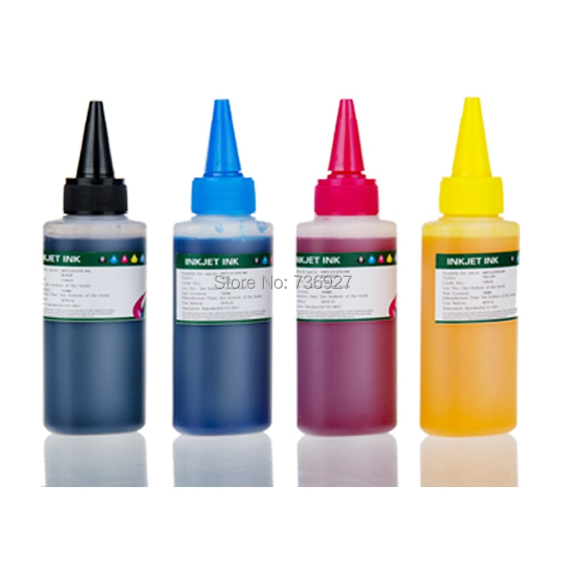 4X 100ml T0731 T0732 T0733 T0734 recarga de tinta para Epson Stylus C79 C90 C92 C110 CX3900 CX3905 CX4900 CX4905 CX5500 impresora