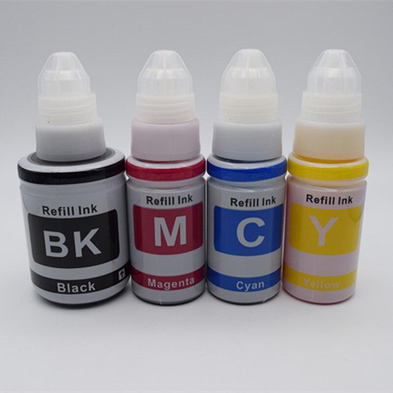 Compatible GI-490 Kit de recarga de tinta BK Ink GI490 C M Y para impresoras Canon PIXMA G1400 G2400 G3400 G1000 G2000 G3000