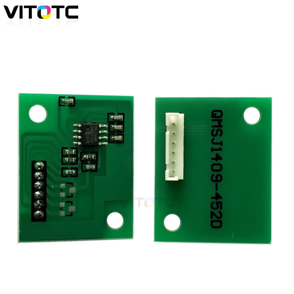 IU711 IU-711 чип барабанного блока совместимый для Konica Minolta C650 C754 C 654 C 754 принтер барабанный блок картридж сброс пополнения чипы