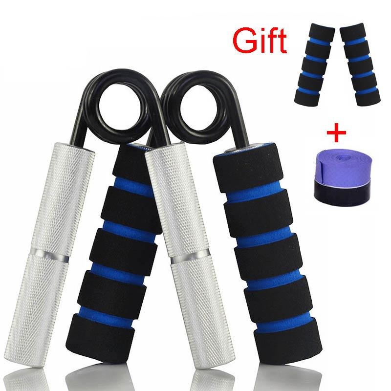 Agarre de la mano de antebrazo muñeca puños fortalecedor de Metal pesado pinzas fortalezas ejercicio 100-350LBS gimnasio mano expansor dedo entrenador