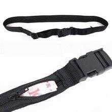 Nosii Nylon Anti-theft Double Layer Hide Money Waist Wallet Belt Strap Keeper Outdoor Adjustable Travel Luggage Packing Strap