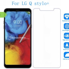 Tempered Glass For LG Q stylo+ Screen Protector phone Film Protective Screen Cover For LG Q stylo+