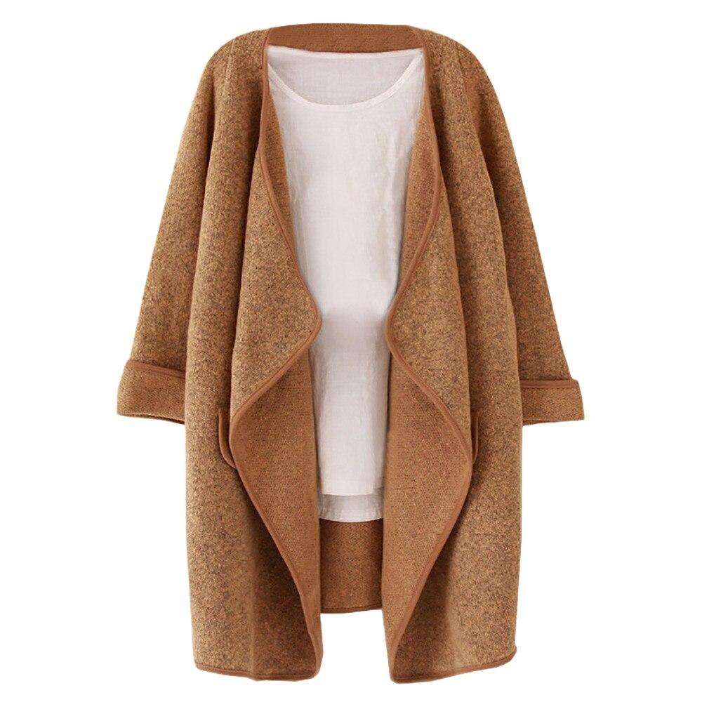 Nuevo otoño Abrigo Mujer elegante Abrigo de Mujer Abrigo de corte Slim...