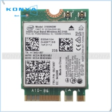 Per Intel 3165 AC + BT4.0 PCIE M.2 Scheda WiFi Per Lenovo Thinkpad E460 E560 B71 Yoga 310-11IAP Serie 00JT497