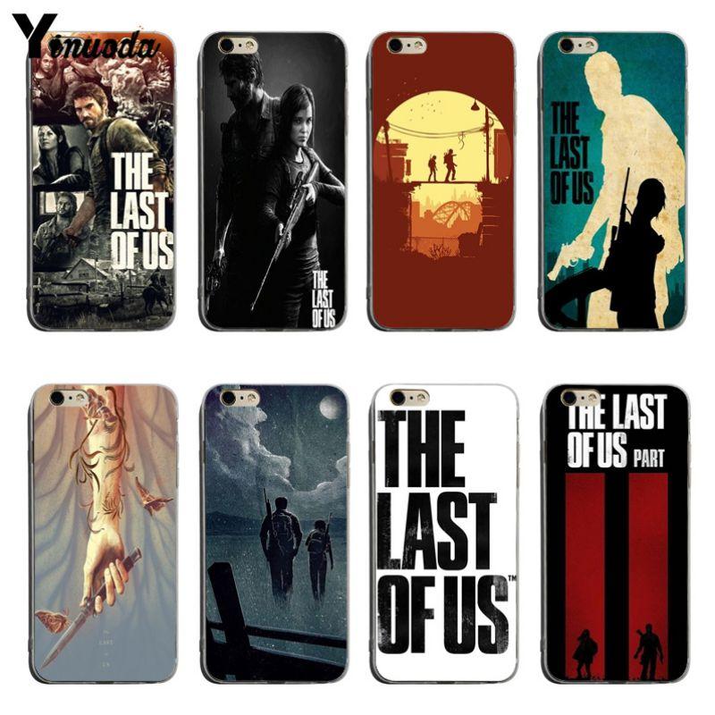 Yinuoda la última funda transparente de EE. UU. Para iPhone 5 5s SE 6 6plus 7 7Plus 8 8plus X XS XR XSMax