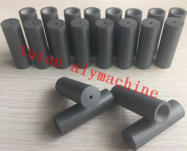 Bocal de sopro do carboneto de boro 45x16x 4/5/7/8mm, peças da máquina de jateamento de areia