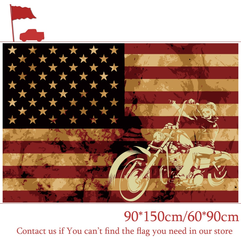 90*150 см 60*90 см 3X5FT флаг пиратской езды на мотоцикле американские флаги 90x150 см Индивидуальные пиратские баннеры