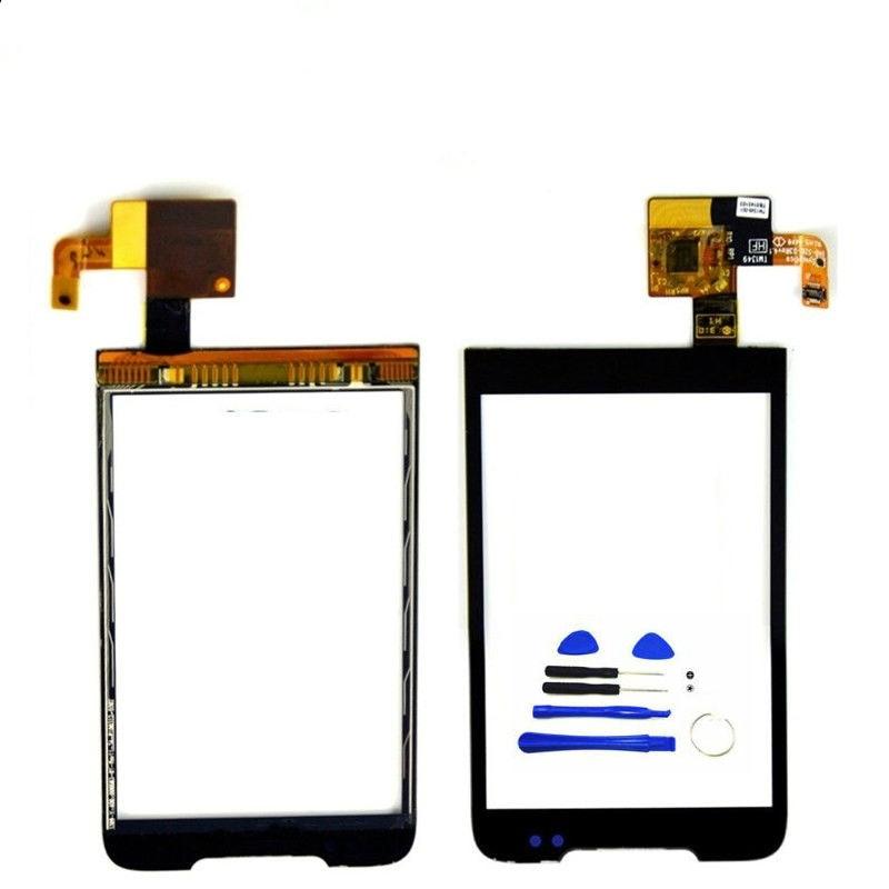 A6365 RTBESTOYZ Touchscreen Do Painel de Toque Para HTC Legend G6 A6363 Digitador Da Tela de Toque Sensor de Vidro Da Frente