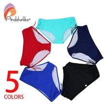 Andzhelika 2018 femmes bikini bas grande taille XL-8XL Sport réglable slips maillot de bain culottes Shorts sous-vêtements maillot de bain
