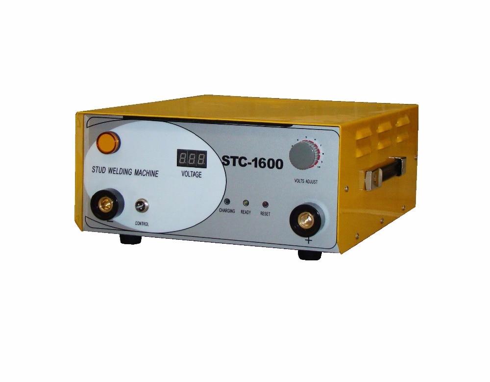 جديد SCT-1600 مكثف التفريغ CD مسمار لحام لحام آلة M3-M8 كوليت 220V