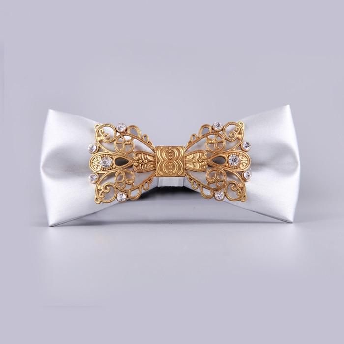 New Free Shipping fashion male MEN'S Men tie retro metal diamond palace retro groom Groomsmen on SALE