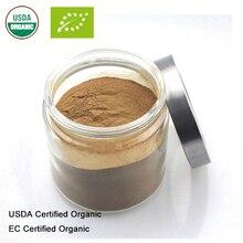 Extrait de champignon rouge Reishi certifié USDA et EC 101 polysaccharide ganoderma lucide