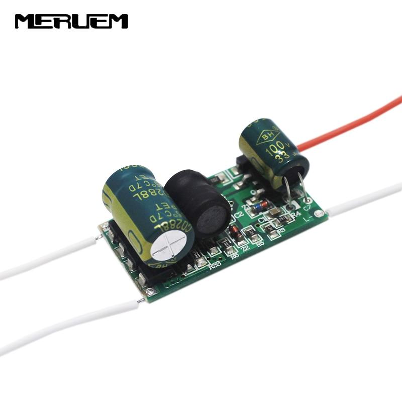 6pcs/lot 9W 10W 11W 12W Led Driver 12V to 26V 500mA Solar-compatible AR111 Power Supply Bulb lamps Transformer Free shipping