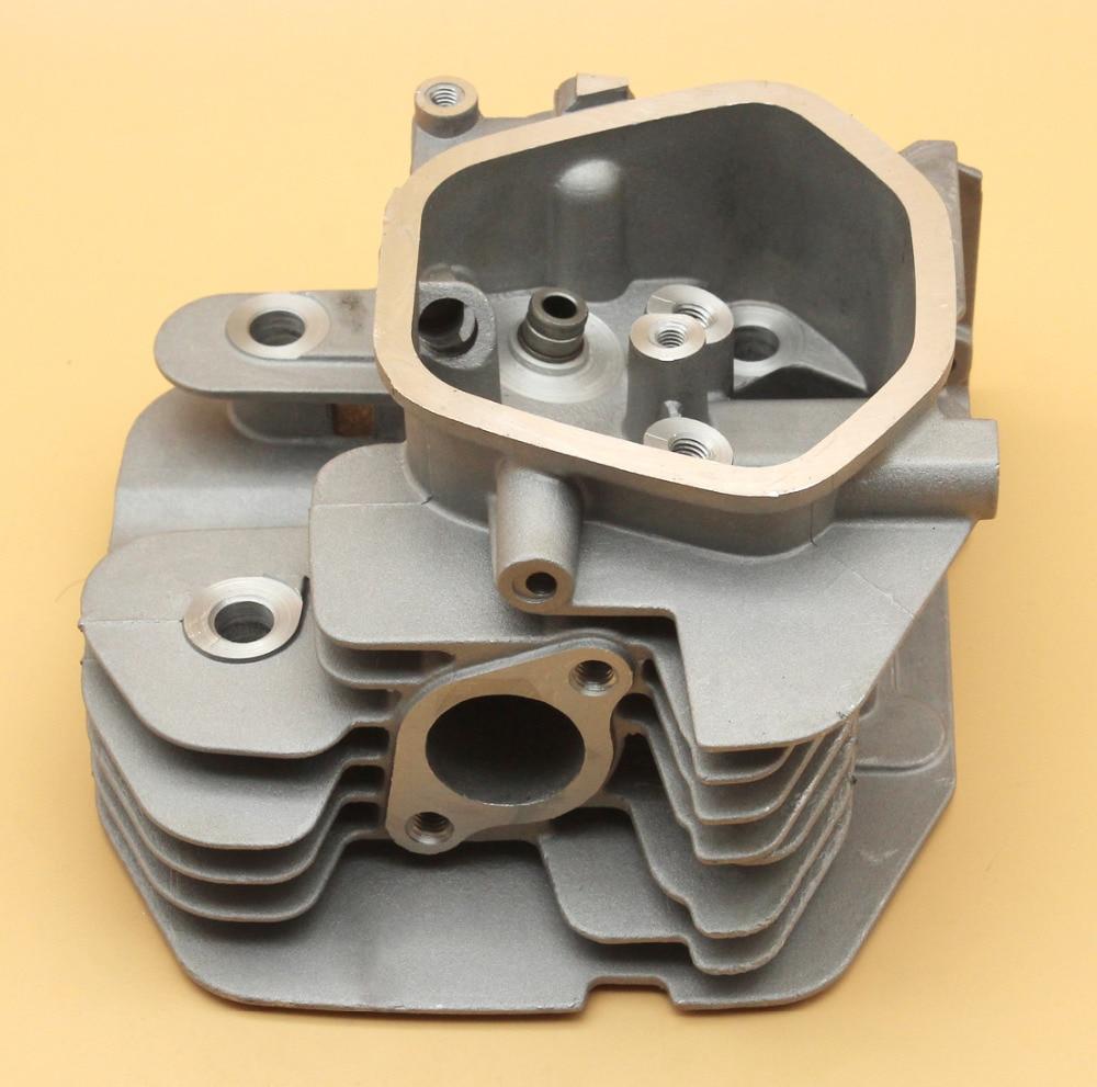 Cylinder Head Fit HONDA GX340 GX390 Chinese 188F 11HP 13HP 5KW Engine Motor Generator Water Pump Parts carburetor oil sensor switch insulator choke rod filter kit for honda gx390 13hp 188f gx340 11hp generator power engine