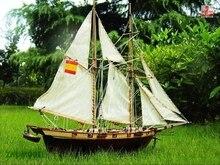 ZHL Halcon 1840 modèle bateau bois