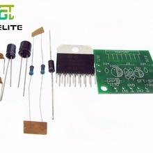 HAILANGNIAO 1set TDA7297 amplifier board spare parts dc 12v grade 2.0 dual audio encoding 15w electr